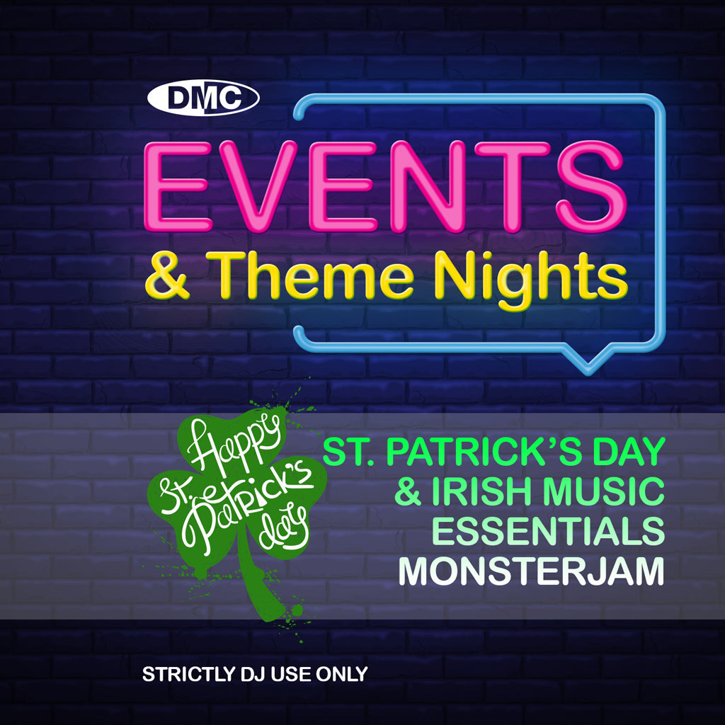 Check Out DMC Events & Theme Nights presents  St. Patricks Day & Irish Music Essentials Monsterjam - February 2019 release On The DMC Store