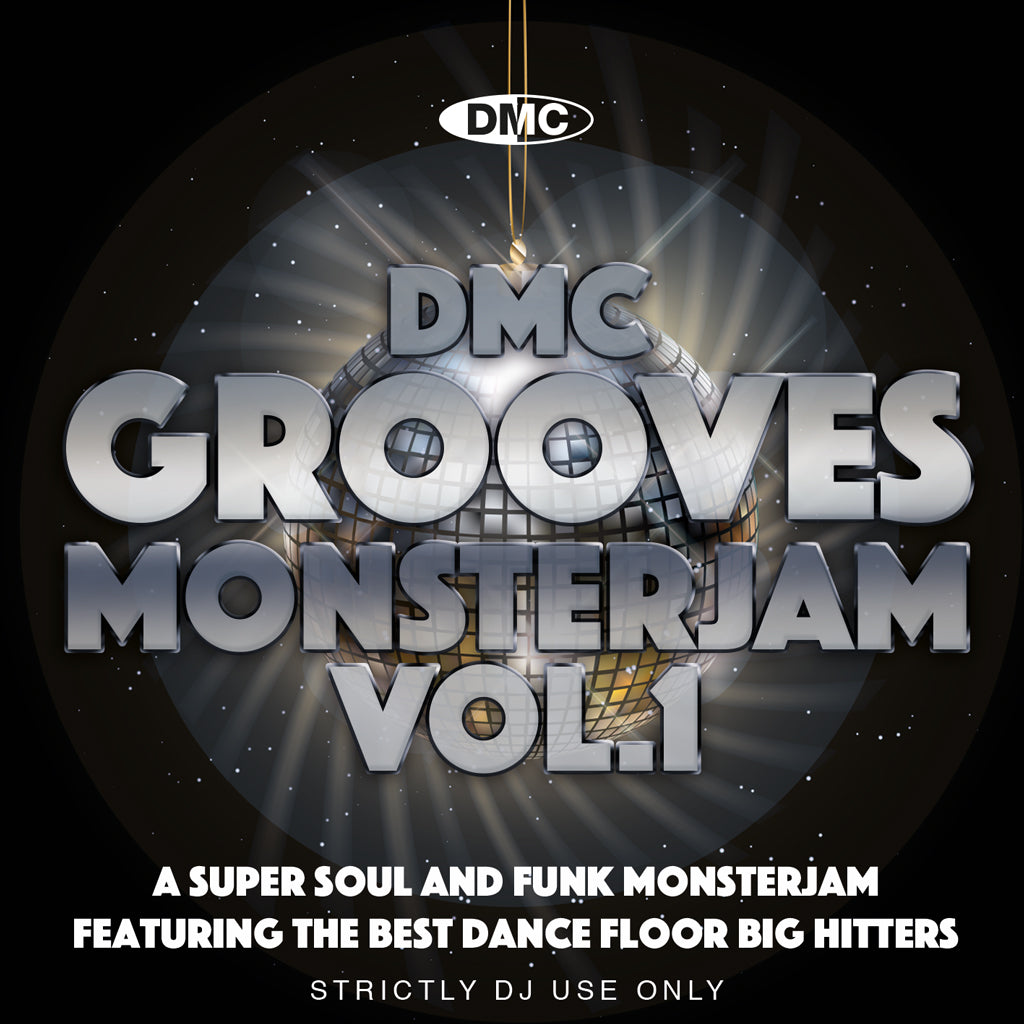 Check Out DMC Grooves Monsterjam Vol.1 - October 2020 release - not in discount sale On The DMC Store