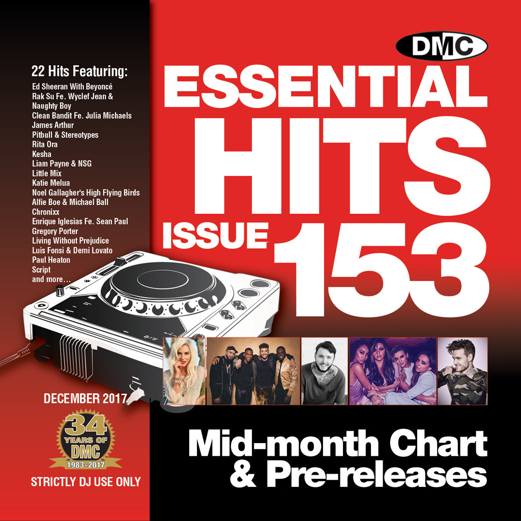 DMC Essential Hits 153 - December 2017 release