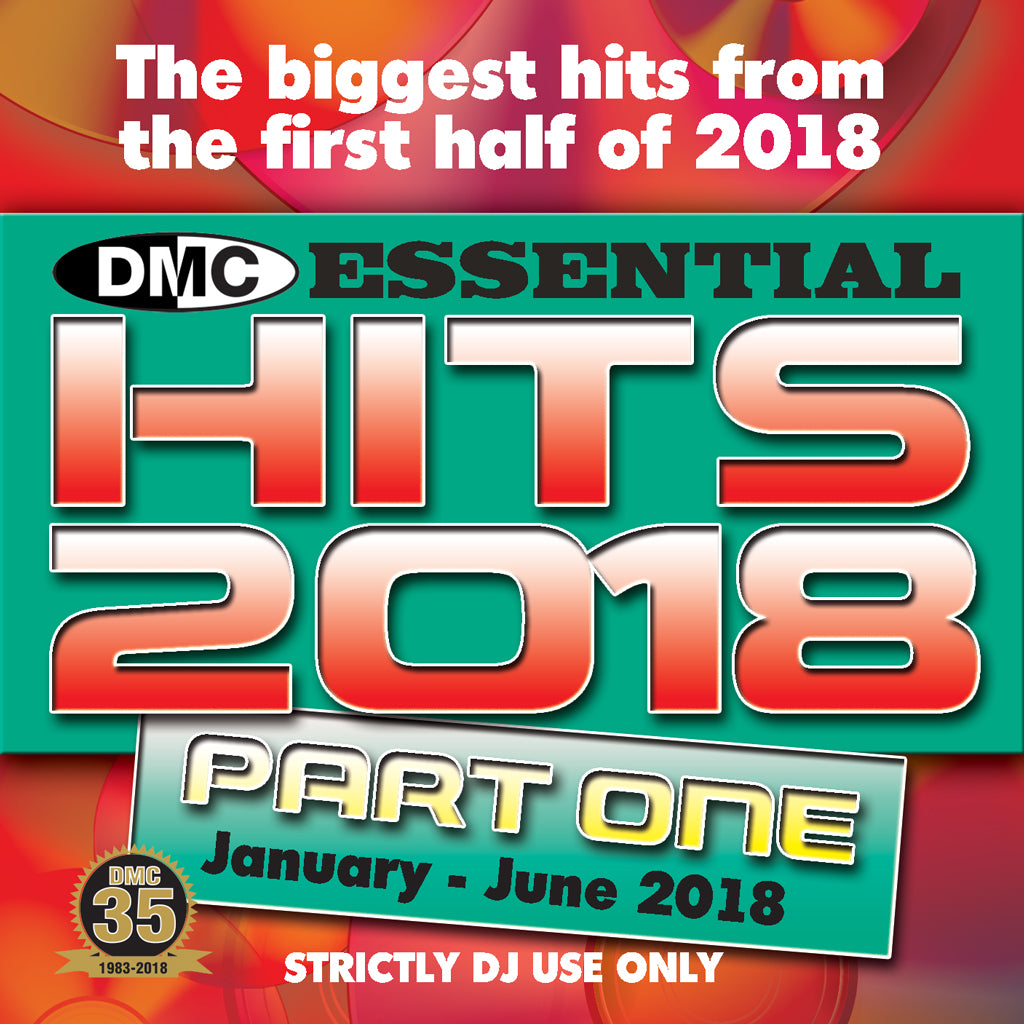 ESSENTIAL HITS 2018  Part 1 - July 2018 release - The biggest hits from the first half of 2018