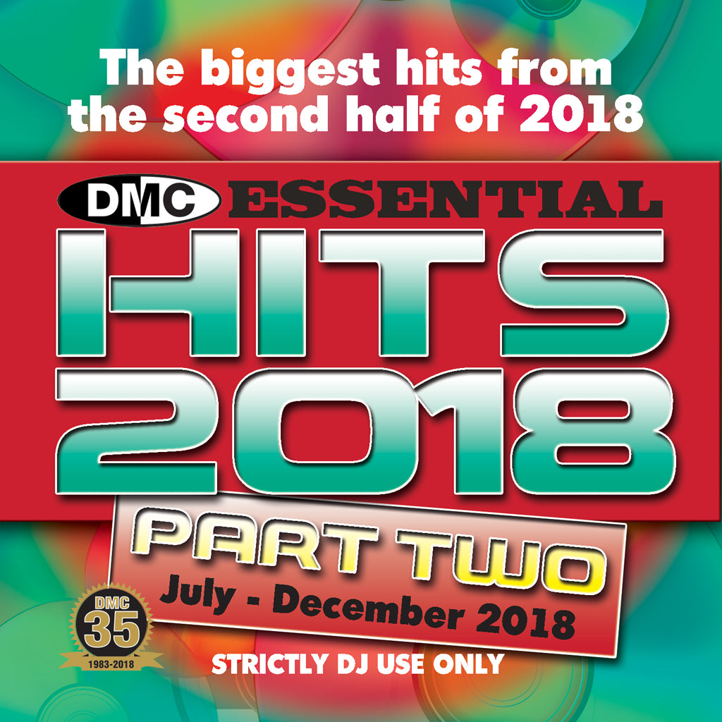Check Out DMC Essential Hits 2018 Part 2 - Mid December 2018 release On The DMC Store