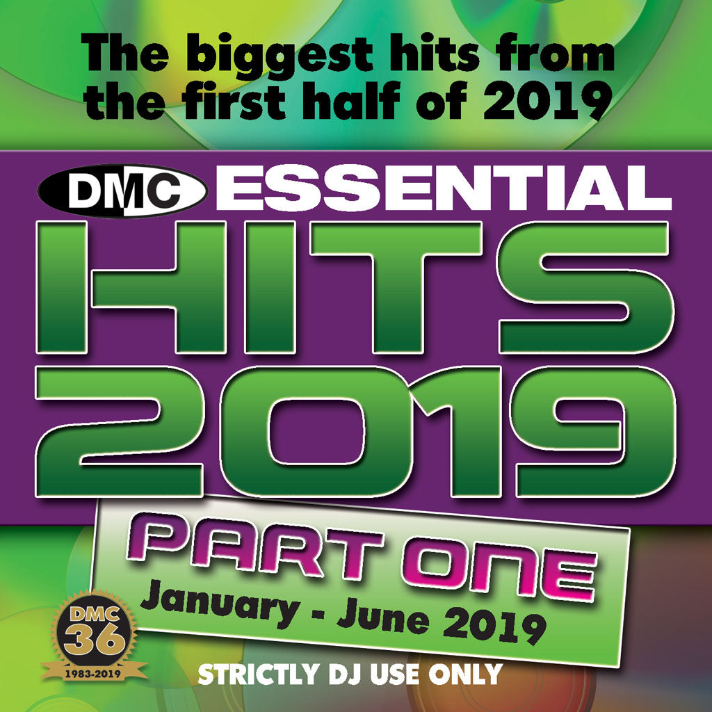 DMC ESSENTIAL HITS 2019 - Volume 1 - The biggest & best essential chart hits from the first half of 2019.