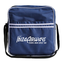 IBIZA AIRWAYS Retro DJ Bag - Blue