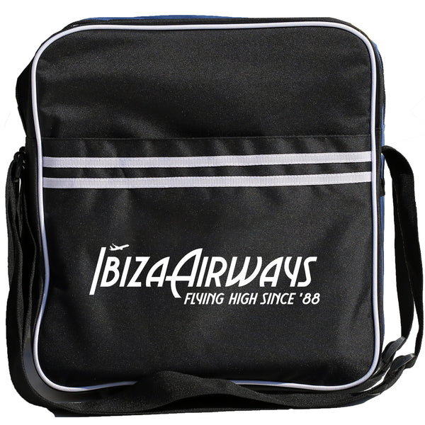 IBIZA AIRWAYS Retro DJ Bag - Black