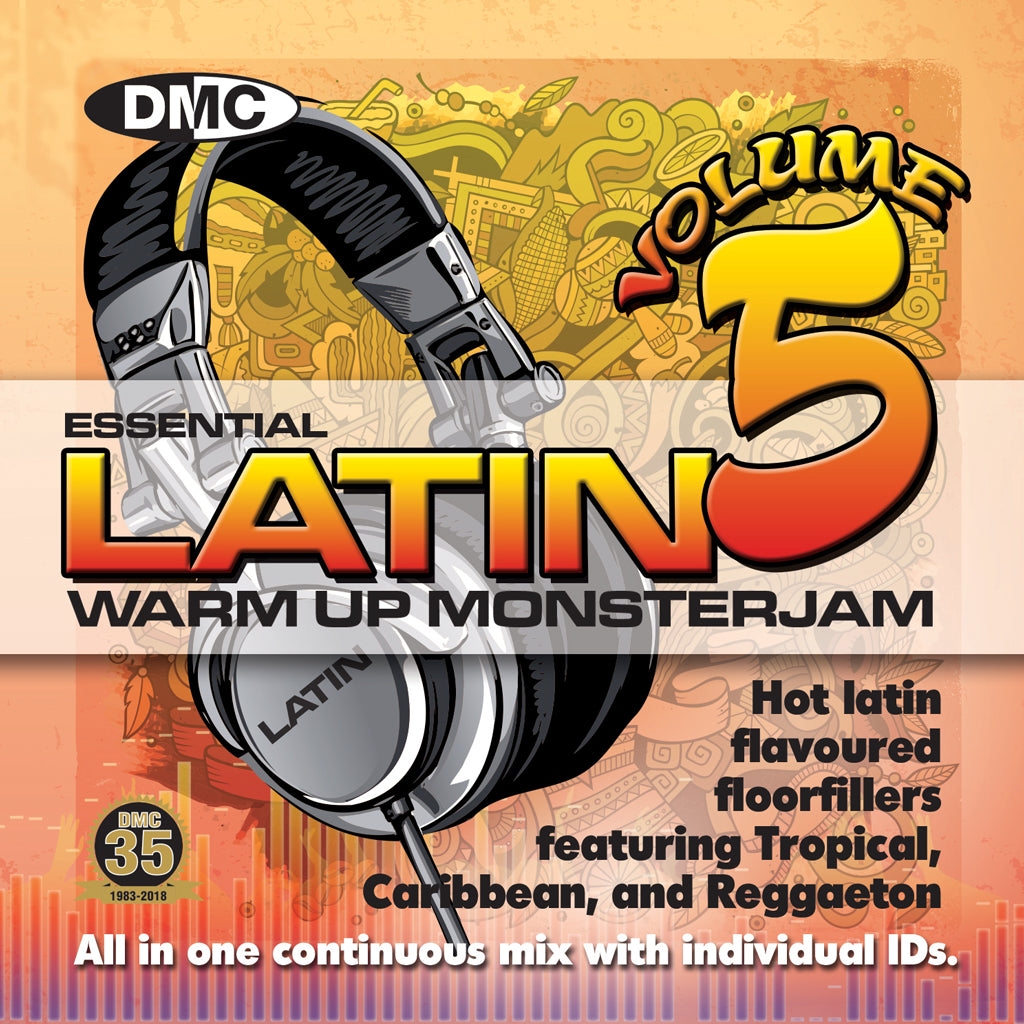 Check Out DMC Latin Warm up Monsterjam 5 - September 2018 release On The DMC Store