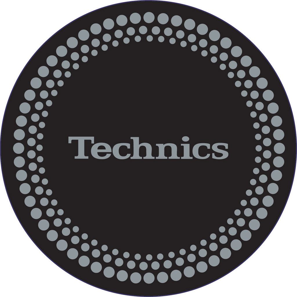 Technics Silver Dots Slipmat (x2)