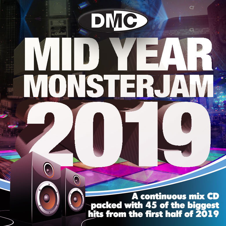 Check Out Mid-Year Monsterjam 2019  An uplifting 75 minute mix, party-jam packed with 45 of the biggest and best hits from 2019. - Out now! On The DMC Store