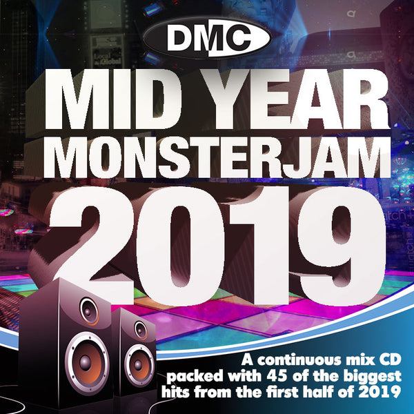 Mid-Year Monsterjam 2019  An uplifting 75 minute mix, party-jam packed with 45 of the biggest and best hits from 2019. - Out now!