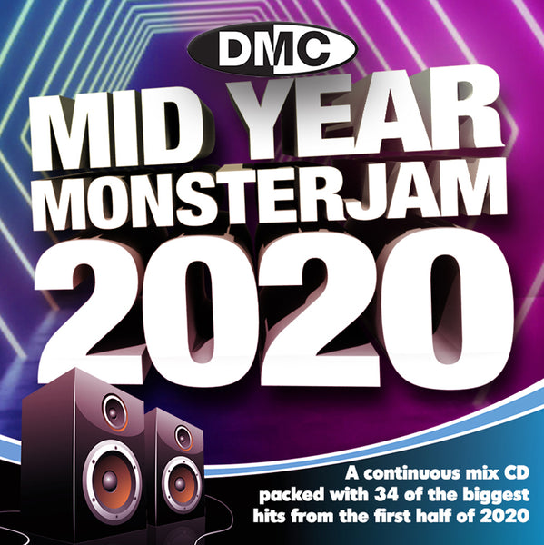 DMC MID YEAR MONSTERJAM 2020 - A continuous mix of the biggest hits of the first half of the year - July 2020 release