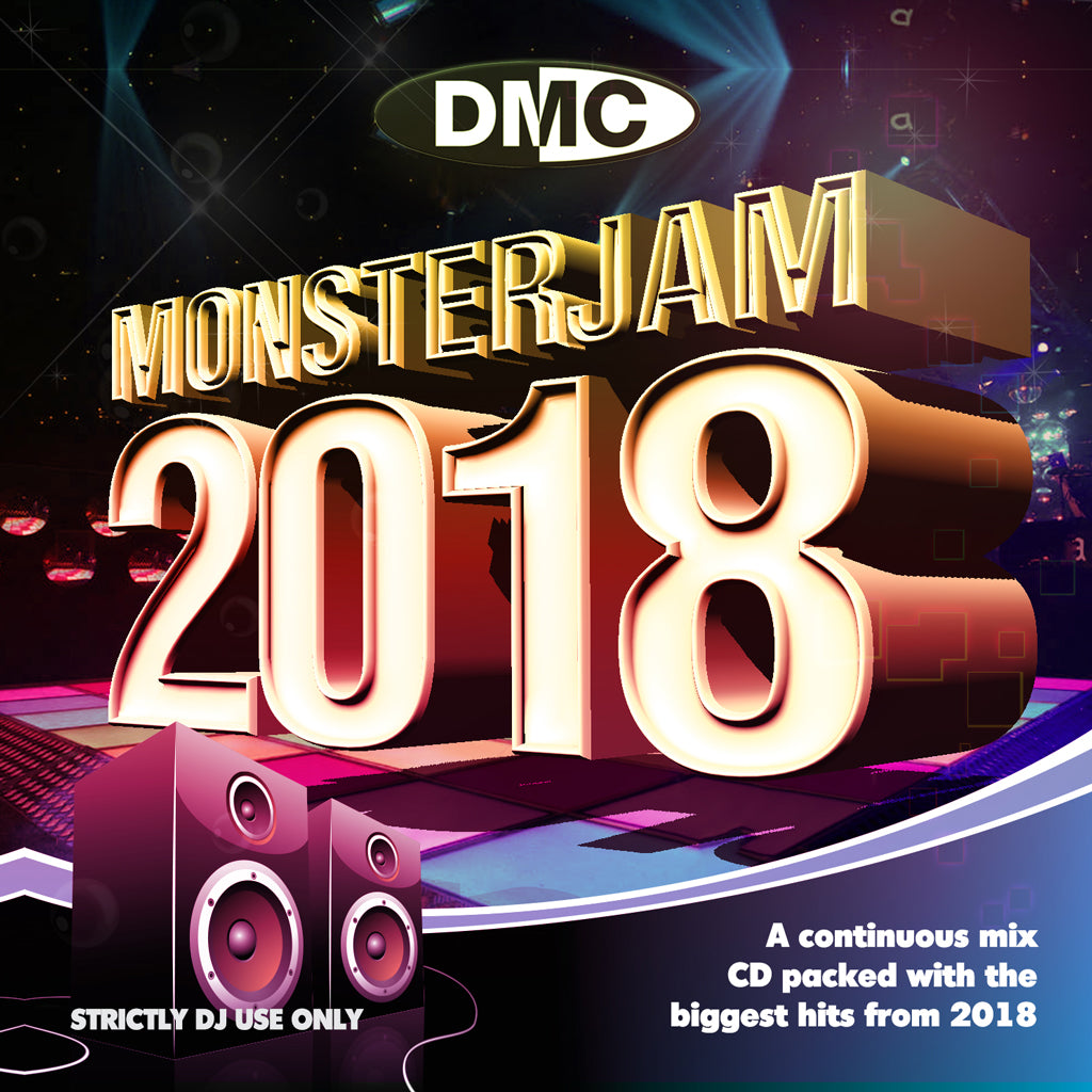 DMC Monsterjam 2018 - DMC's biggest and most anticipated mix release of the year - December 2018 release