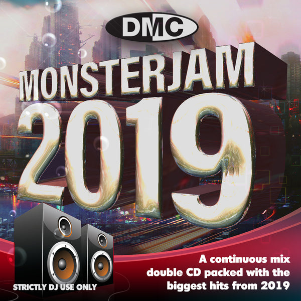 DMC MONSTERJAM 2019 - Double CD - The most anticipated mix release of the year