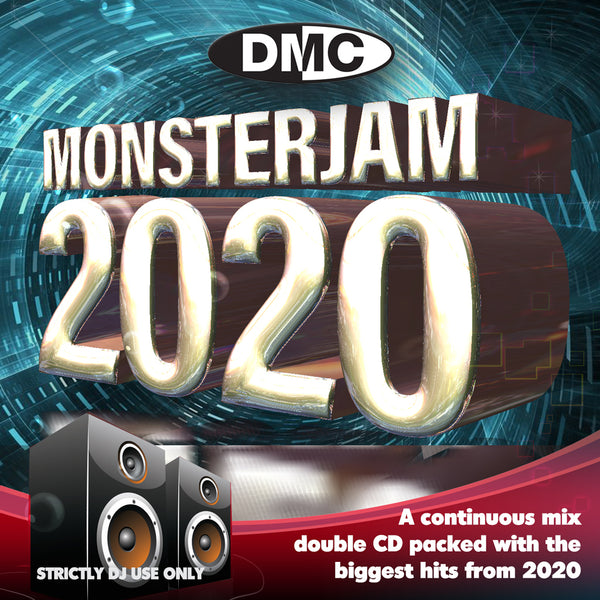 DMC MONSTERJAM 2020 - the most anticipated mix of the year - 2 x CD - out now - December 2020 release