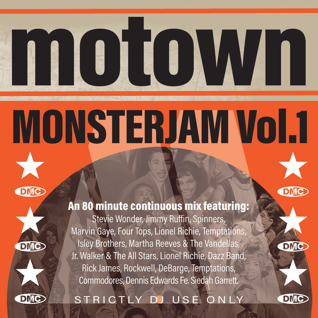 MOTOWN MONSTERJAM Volume 1 - An epic 80 minute continuous mix  - October 2019