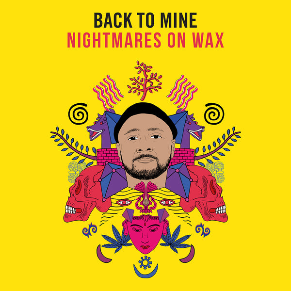 Back To Mine  - Nightmares on Wax - Double CD - Mixed and Unmixed - Released 25 January 2019