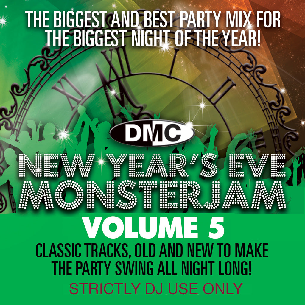 Check Out DMC NEW YEAR's EVE MONSTERJAM 5 - December 2018 release On The DMC Store