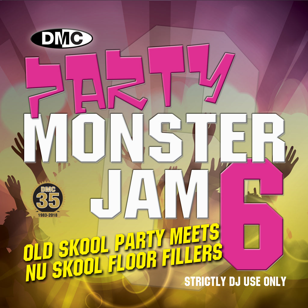 Check Out DMC Party Monsterjam 6 - December 2018 release On The DMC Store