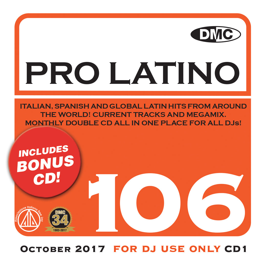 Pro Latino 106  – bonus 2 x cd special issue! - October 2017 release.