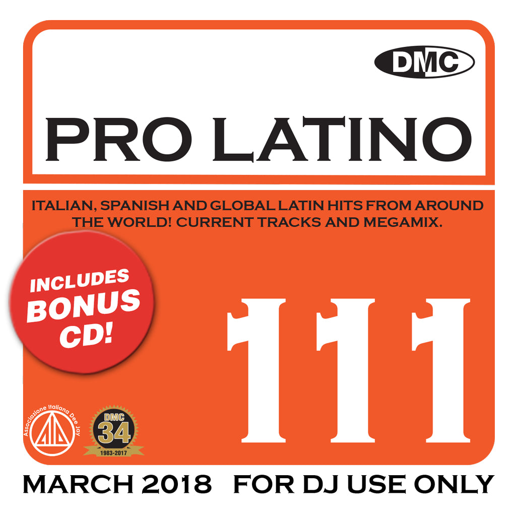 DMC Pro Latino 111 - March 2018