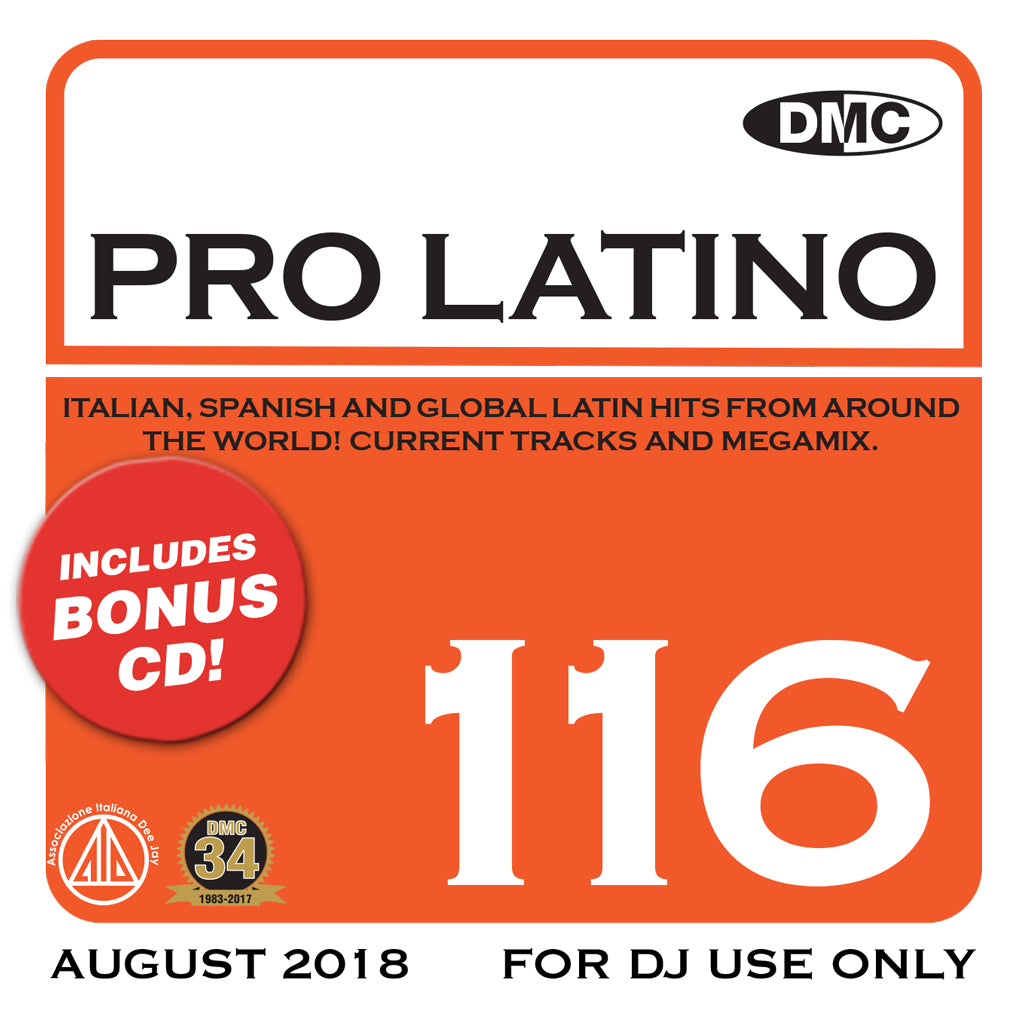 Check Out DMC Pro Latino 116 - September 2018 On The DMC Store