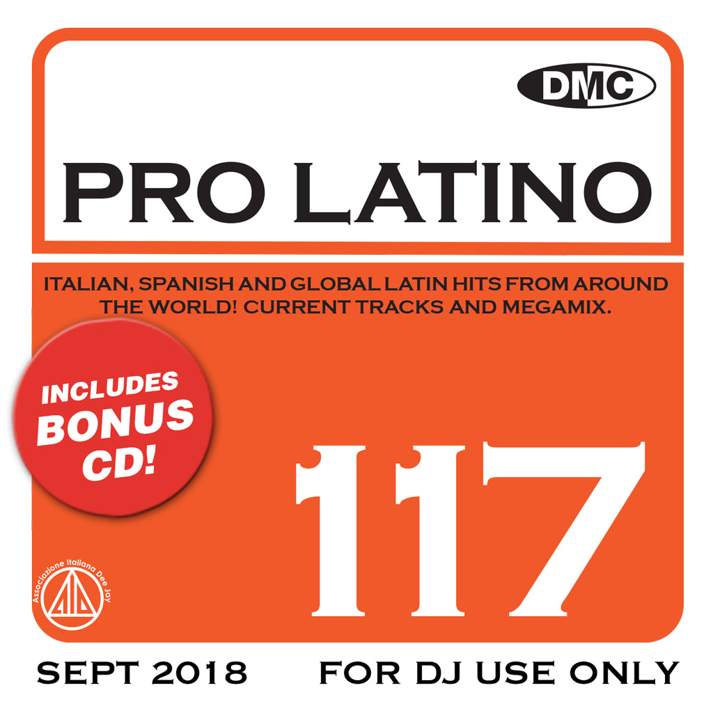 DMC PRO LATINO 117 - October 2018 release