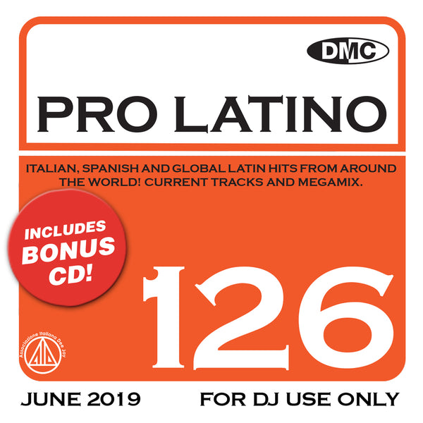 DMC Pro Latino 126 - August 2019 release
