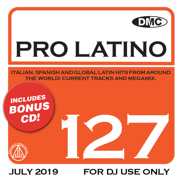 DMC Pro Latino 127 - August 2019 release