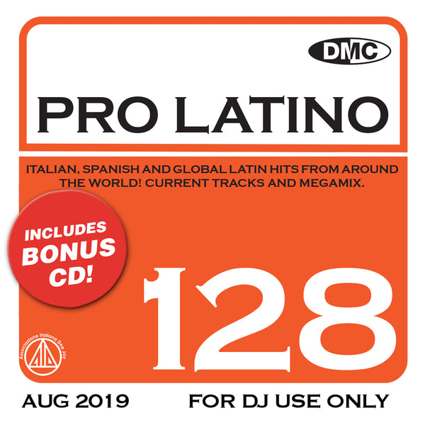 DMC PRO LATINO 128 - August 2019 release