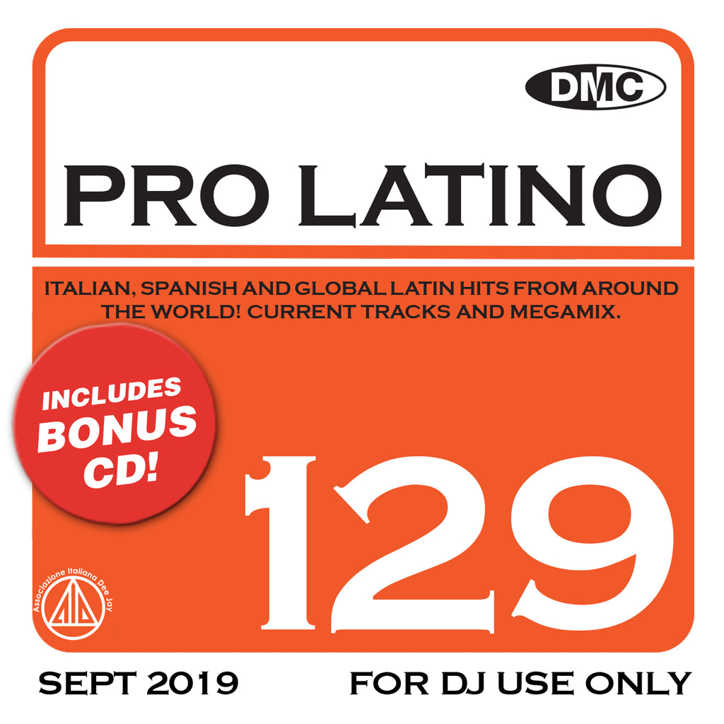 Check Out DMC PRO LATINO 129 - October 2019 release On The DMC Store