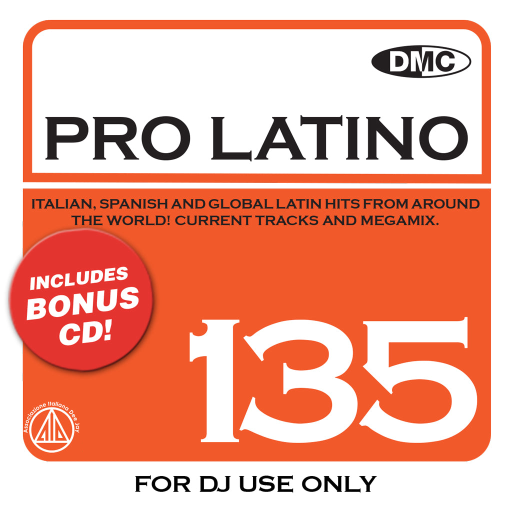 Check Out DMC PRO LATINO 135 - May 2020 release On The DMC Store