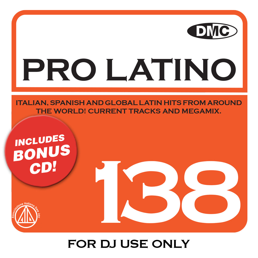 Check Out DMC PRO LATINO 138 - September 2020 release On The DMC Store
