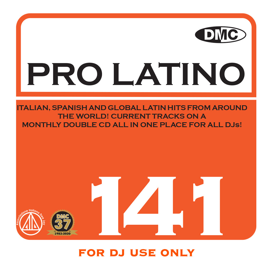 Check Out DMC PRO LATINO 141 - January 2021 release - out now On The DMC Store