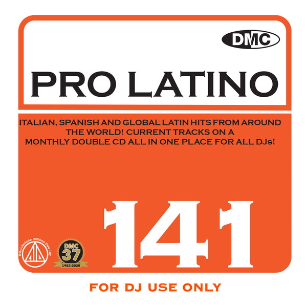 DMC PRO LATINO 141 - January 2021 release - out now