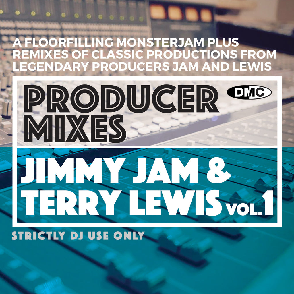 Check Out DMC PRODUCER MIXES - JIMMY JAM & TERRY LEWIS Vol.1 - November 2020 release On The DMC Store