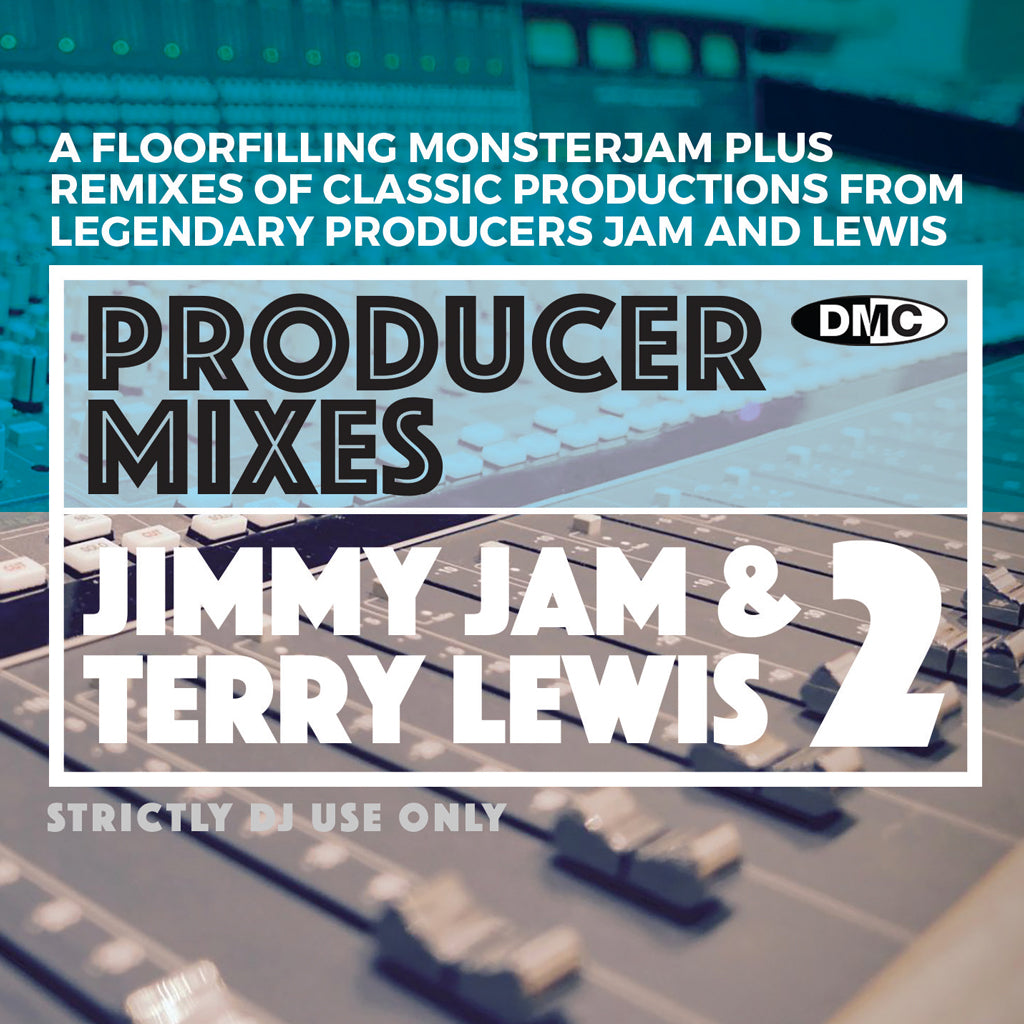 Check Out DMC PRODUCER MIXES JIMMY JAM & TERRY LEWIS Vol.2 - Feb 2021 release On The DMC Store