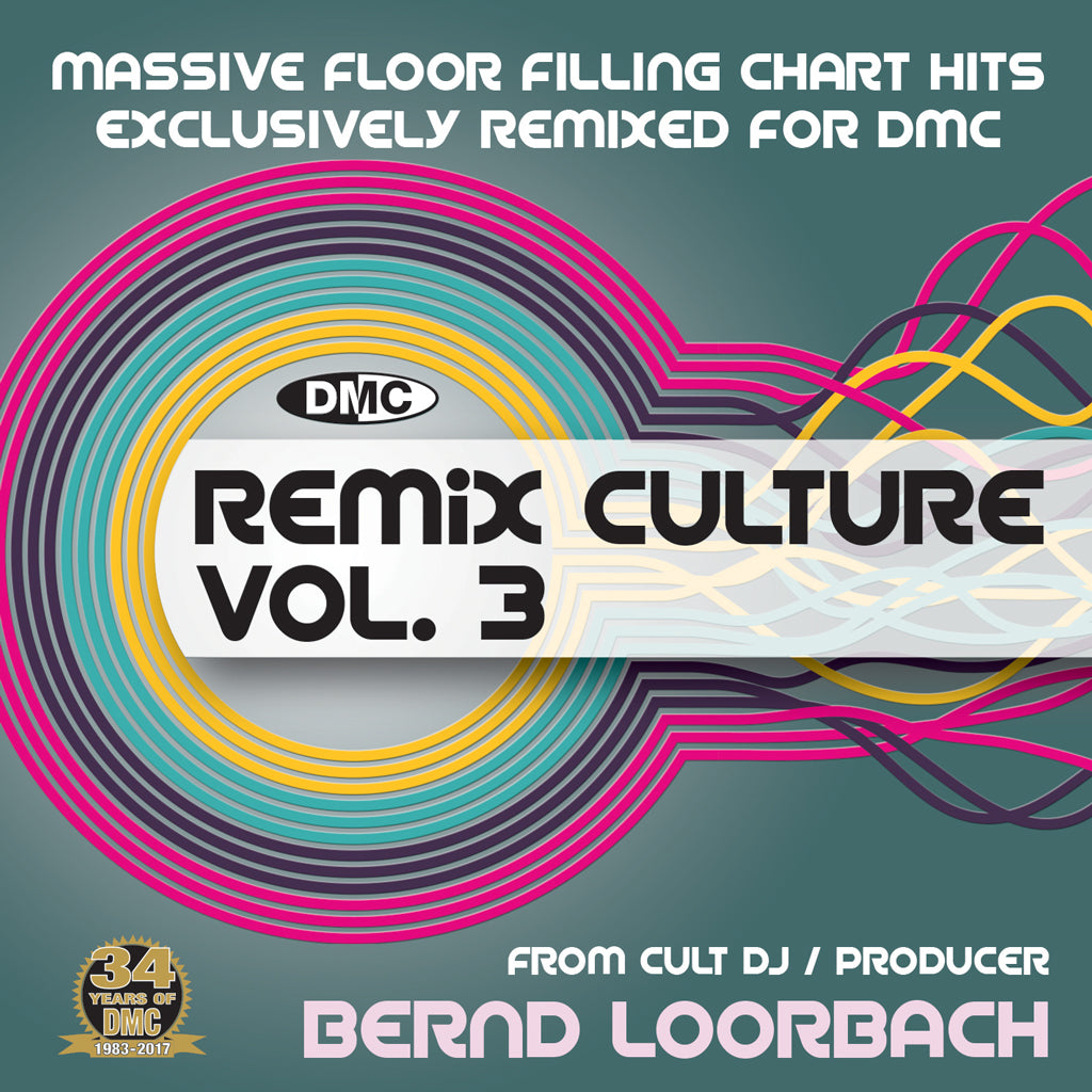 DMC Remix Culture Volume 3 - October 2017 release