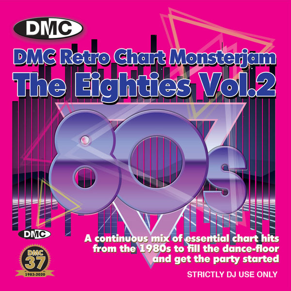 DMC RETRO CHART MONSTERJAM THE EIGHTIES VOL.2 - End July 2020 release