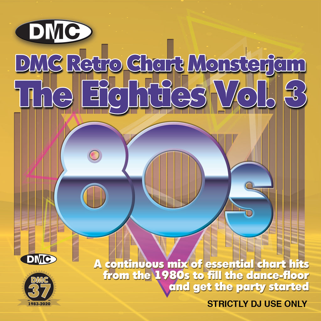 DMC RETRO CHART MONSTERJAM 80s Vol. 3 - December 2020 release
