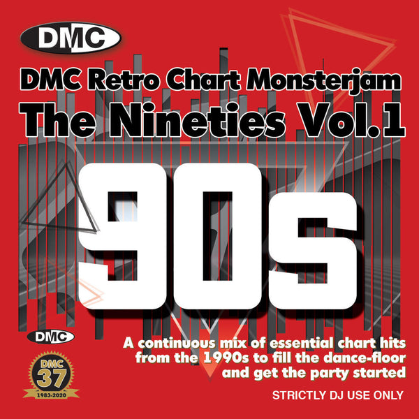 DMC RETRO CHART MONSTERJAM THE NINETIES VOL.1 - End July 2020 release