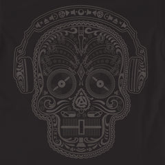 Skull & Phones DJ T. Shirt - Black