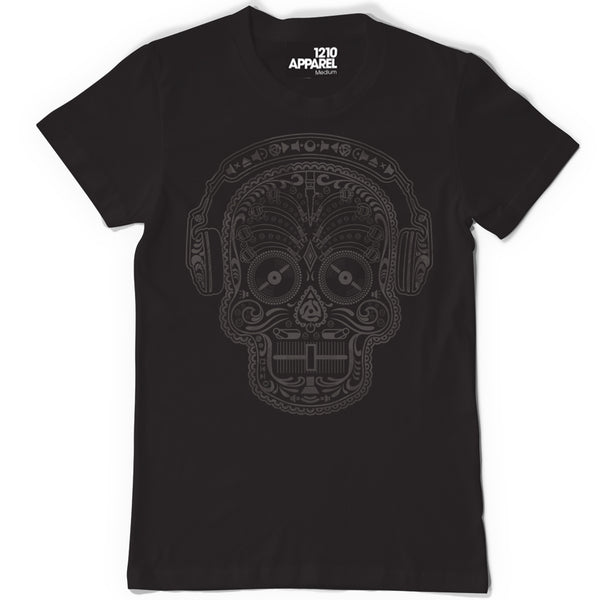 Skull & Phones DJ T. Shirt - available in Black or White