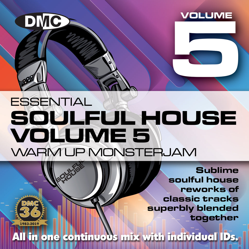 Check Out DMC Soulful House Warm Up Monsterjam Vol 5  Sublime soulful house in one continuous mix - Sept 2019 On The DMC Store