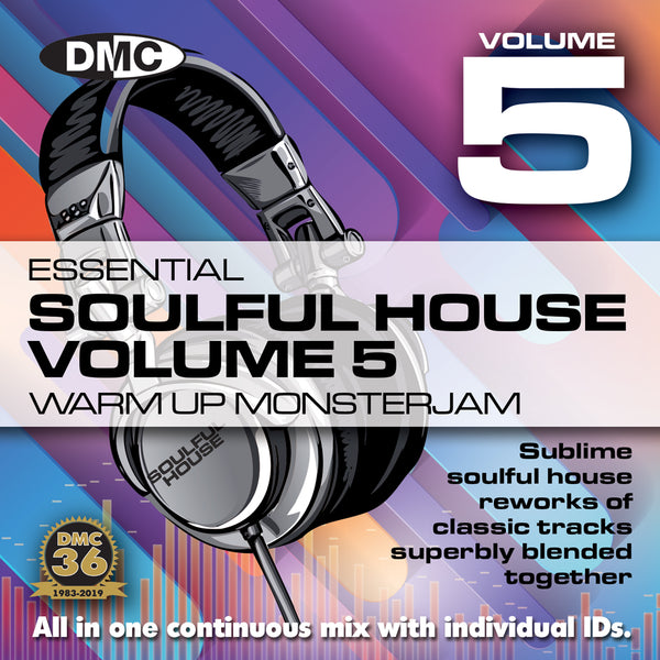 DMC Soulful House Warm Up Monsterjam Vol 5  Sublime soulful house in one continuous mix