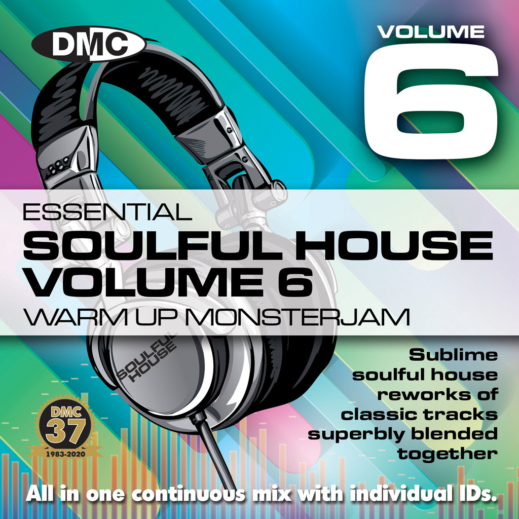 Check Out DMC WARM UP SOULFUL HOUSE MONSTERJAM 6 - September 2020 release On The DMC Store