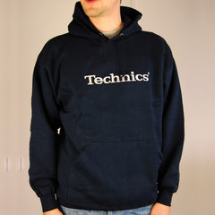 Technics Navy Hoody