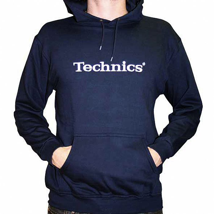 Check Out Technics Navy Hoody On The DMC Store