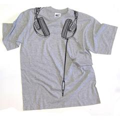 Technics Headphones T-shirt - Grey