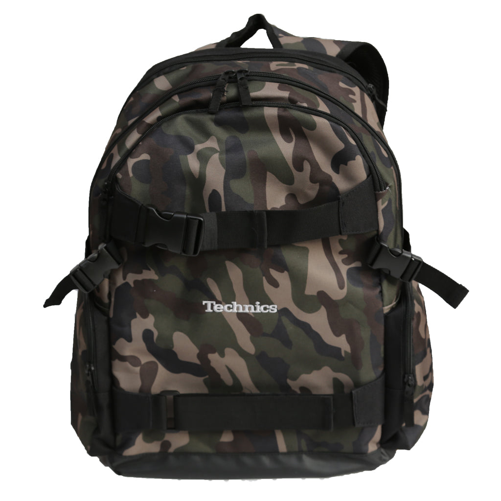Technics Old School Board Pack (camo/silver embroidered logo)