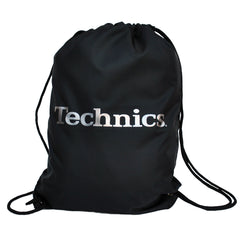Technics Wax Sac  - Black with Silver Logo