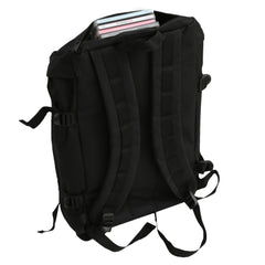Technics Utility Backpack (black/silver embroidered logo)