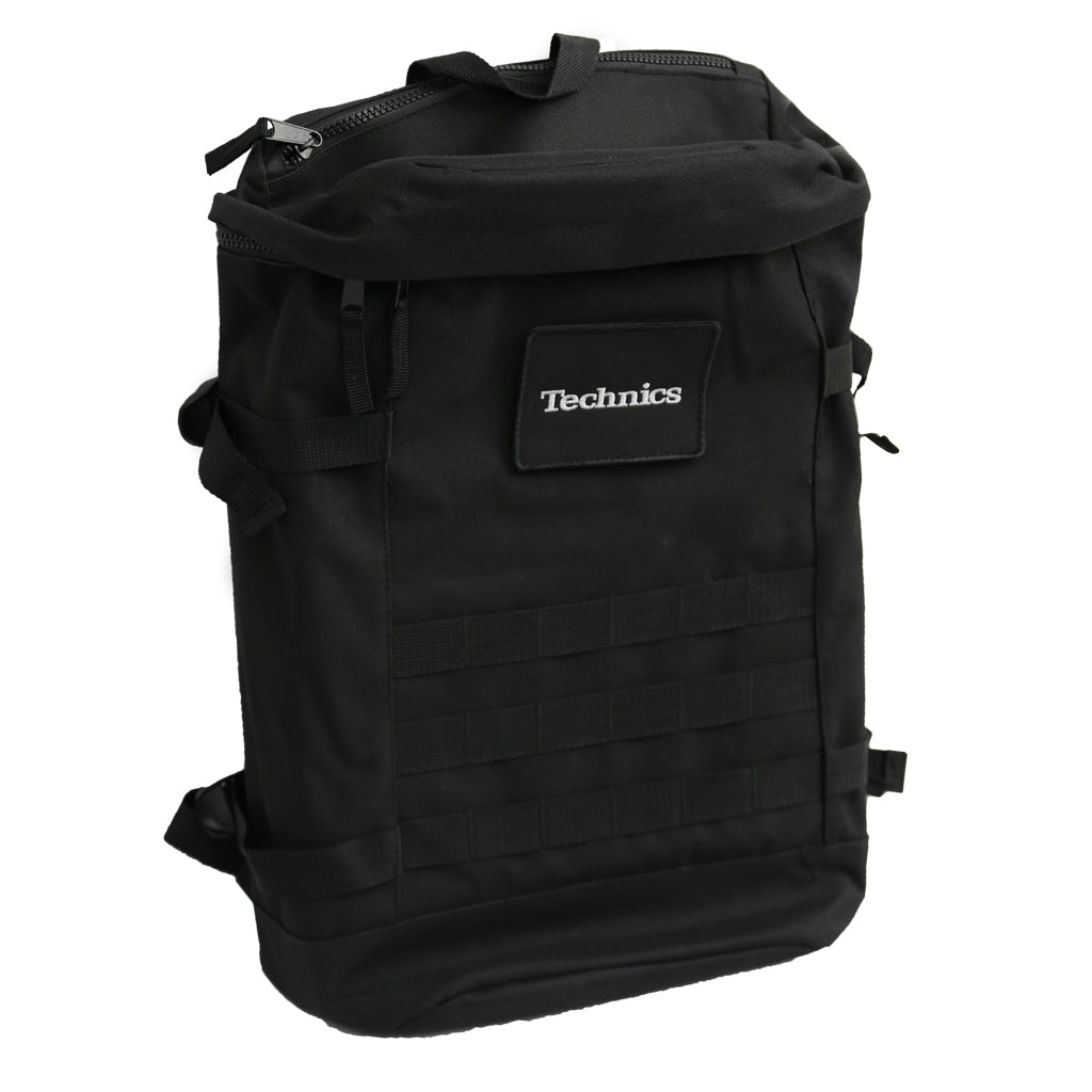 Check Out Technics Utility Backpack (black/silver embroidered logo) On The DMC Store